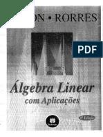 Álgebra Linear Com Aplicacoes (8 Ed) - Howard Anton e Chris Rorres