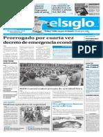 Edición Impresa Elsiglo 16-09-2016