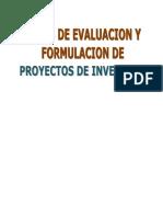 Libro Formulación y Evaluación de Proyectos