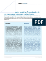 REVISTA Terapia Con Presión Negativa. Sistema de Bajo Costo y de Alta Eficacia
