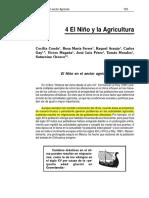El Niño y La Agricultura