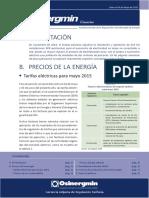Infosinergmin Empresas Mayo 2015