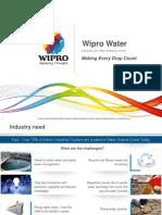 Wipro Water Presentation 2016v2