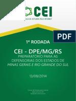 CEI-DPE-RODADA1