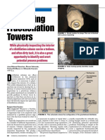 Inspecting Fractionation Towers