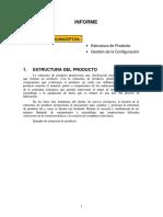 Estructura de Producto
