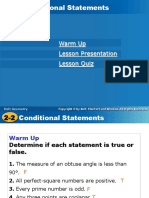 intro to conditional statements
