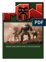 Mechwarrior Solo Campaign