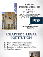 CHAPTER 6 Court System