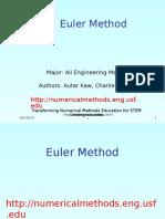 Mws Gen Ode Ppt Euler
