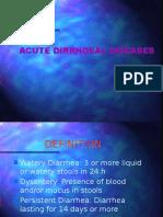 acute diarrhoeal
