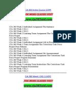 CJA 383 AID Expect Sucess/cja383aid.com