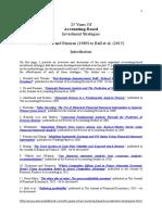 25 Years of Fundamental Analysis