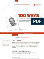 Tom Peters - 100Ways
