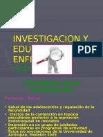 INVESTIGACION Y EDUCACION EN ENFERMERIA.pptx