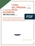 manual de rugosidad presion y temperatura automotriz