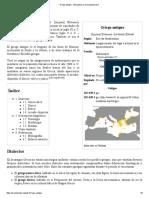 Griego Antiguo - Wikipedia, La Enciclopedia Libre