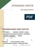Bab 3. Diferensial Vektor