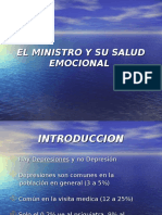 El Ministro y Su Salud Emocional