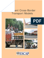 Efficient Cross-border Transport Models_2015
