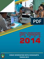 Profil Kesehatan Kota Surakarta Tahun 2014