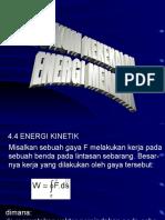 Kuliah 8 h Kekekalan Energi Mek