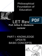 LET - Philosophical Foundation7.ppt