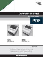 CG4 Series Operator Manual