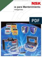 Catalogo Productos Nsk Mantenimiento Calentador Inductivo Extractores Hidraulicos Grasas Especiales Alineador Poleas