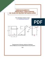 DimensionamentoArmaduraVigas - CA II
