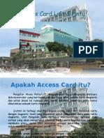 New Access Card tarakan