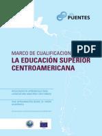 Marco de Cualificaciones para la Educación Superior Centroamericana.