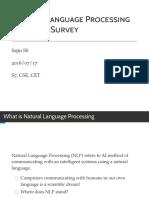 NLP Survey - Presentation