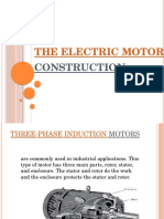 The Electric Motor Construction