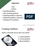 Understanding Partition in Linux