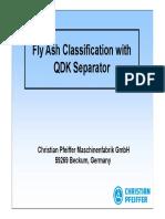 Fly Ash Classification - Presentation