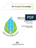 IGBC Green Townships - Abridged Reference Guide (Pilot Version)