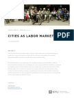 Bertaud, A. (2014). Cities as Labour Markets. Marrion, NYU