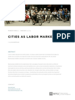 Bertaud, A. (2014). Cities as Labour Markets. Marrion, NYU