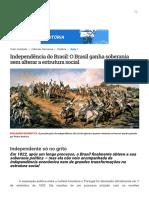 Independência do Brasil_ O Brasil ganha soberania sem alterar a estrutura social - Curso Enem _ Guia do Estudante.pdf