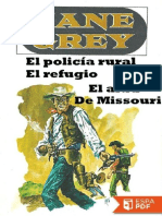 El Policia Rural - Canyon Walls - Zane Grey
