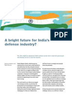 A Bright Future for Indias Defense Industry