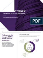 Brexit at Work Barometer – Inaugural Findings by CNC