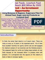 India's Animal Feeds, Livestock Feed Demand to Reach $30 Billion By 2020, Cattle Feed – An Investment Opportunity, Using Molasses and Bagasse, Sugarcane fiber for Animal Feed, Sugar cane by-products as livestock feed Manufacturing Plant, Detailed Project Report, Profile, Business Plan, Industry Trends, Market Research, Survey, Manufacturing Process, Machinery, Raw Materials, Feasibility Study, Investment Opportunities, Cost and Revenue, Plant Economics, Production Schedule, Working Capital Requirement, Plant Layout, Process Flow Sheet, Cost of Project, Projected Balance Sheets, Profitability Ratios, Break Even Analysis