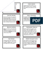 Phandelver Quest Cards