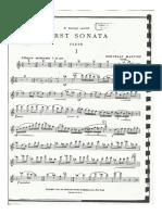 Martinu 1 flute sonata