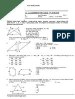 Soal Uts Matematika Kelas 9 Semester 1
