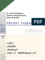 [DE] GRC & RM | Dr. Ulrich Kampffmeyer | Saperion Anwendertagung | Berlin 2008