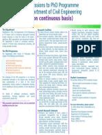 PhDAdmissions CE Continuous