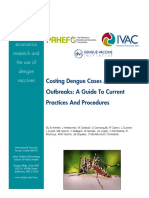 Guide to Costing Dengue Cases Outbreaks